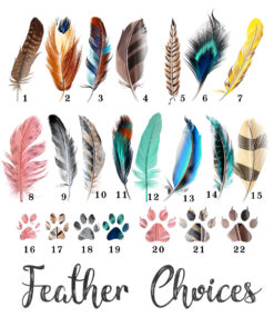 My Tribe Feather options